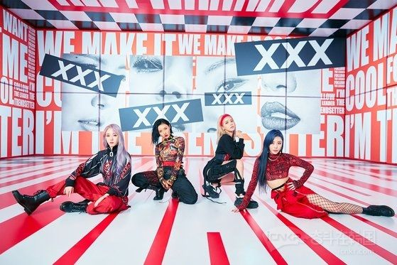 MAMAMOO《HIP》登美公告牌世界数字歌曲销售排行榜首位