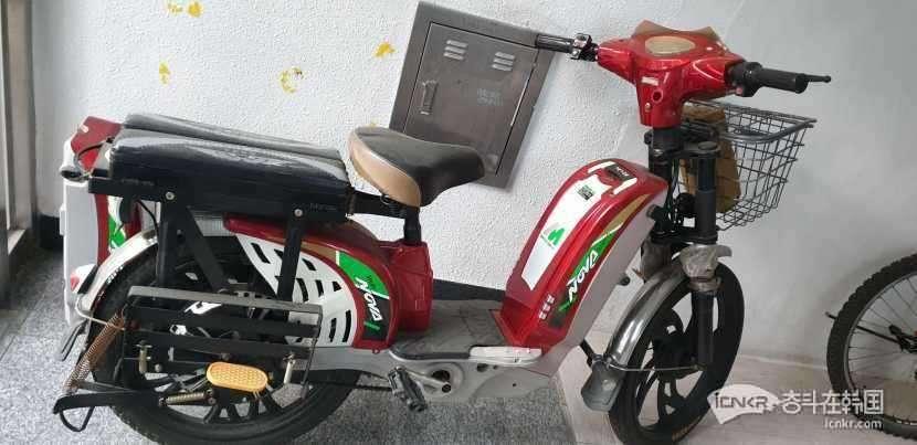 釜山金海市卖台电动自行车
