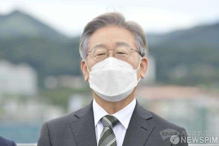 李在明今辞去韩国京畿道知事职务 为明年总统大选做准备